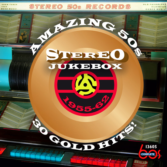 Amazing 50s Stereo Jukebox: 30 Gold Hits 1955-52