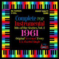Complete Pop Instrumental Hits of the Sixties, Vol. 2 - 1961