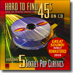 Hard to Find 45s on CD - Vol. 5  Sixties Pop Classics