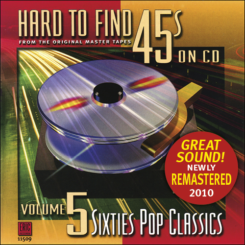 Hard to Find 45s on CD, Volume 5: Sixities Pop Classics