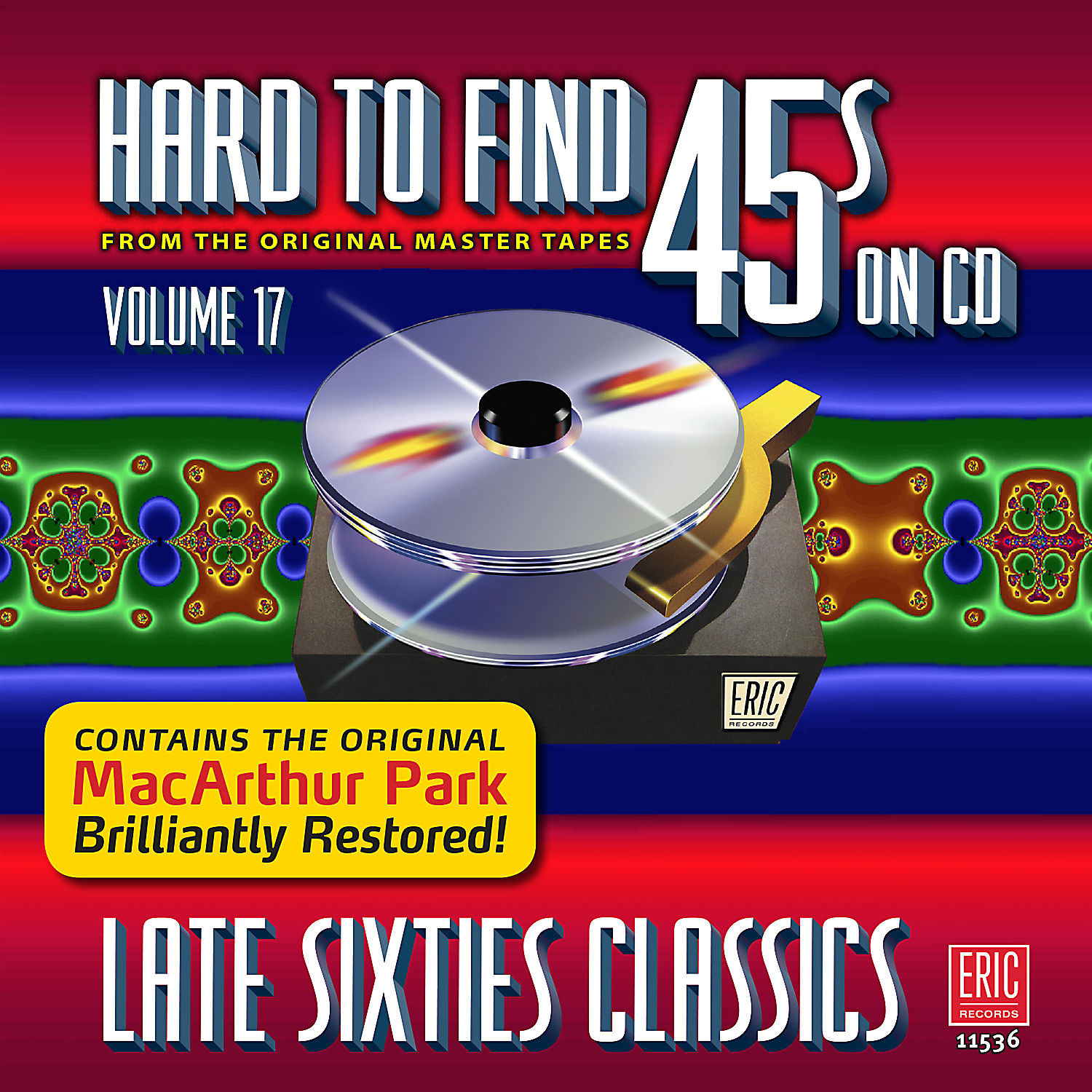 Hard To Find 45s On CD, Volume 17: Late Sixties Classics